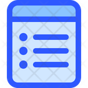Ui Interface Note Icon