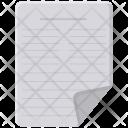 Note Paper Write Icon