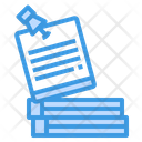 Note Post It Papers Icon