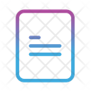 Note Paper Document Icon