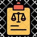 Note Decision Icon