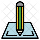 Note Pad Drawing Graphic Tool Icon
