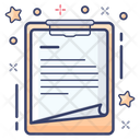 Note Paper Memo Reminder Icon