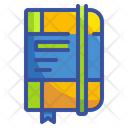 Notebook Agenda Bookmark Icon