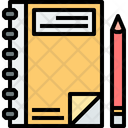 Notebook Book Diary Icon