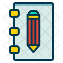 Notebook Text Editor Icon