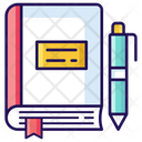 Notebook Notepad Logbook Icon