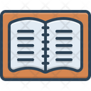 Notebook Student Notes Editorial Icon