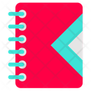 Notebook Office Working Icon