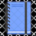Notebook Spring Notebook School Icon