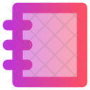Education Notebook Notepad Icon
