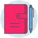 Business Notebook Address Icon