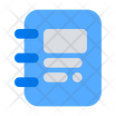 Notebook Diary Note Icon