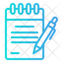 Notebook Book Office Icon