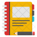 Notebook Notepad Daybook Icon