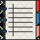 Notebook Note Script Icon