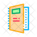 Notebook Electronic Report Icon