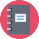 Diary Notebook Log Icon