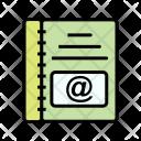 Notebook Memo Grid Icon