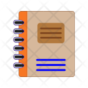 Notebook Notepad Book Icon