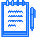 Notebook Pen Note Icon