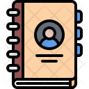 Notebook Contact Details Icon