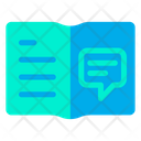 Book Notebook Chat Icon