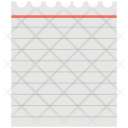 Document Sheet Notebook Icon