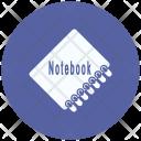 Notebook Synchronize Arrows Icon