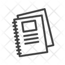 Notebooks Catalogue Directory Icon