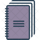Notebooks Books Notepaper Icon