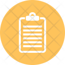 Notepad Report Icon