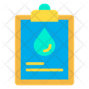 Oil Information Petroleum Documentmdocument Icon