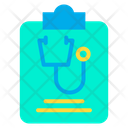 Medical Report Report Medical List Icon