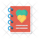 Notepad Notebook Romance Icon