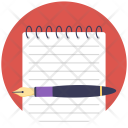 Notepad Scratch Pad Icon