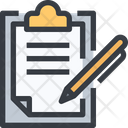 Notepad Clipboardppen Paper Icon