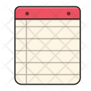Notepad Education Notebook Icon