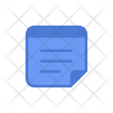 Notepad Notes Postit Icon