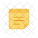 Notepad Notes Postit Icon