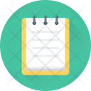 Notepad Steno Pad Icon