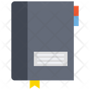 Diary Notebook Log Pad Icon