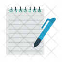 Notepad Write News Icon