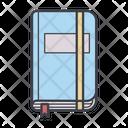 Notepad Moleskine Color Icon