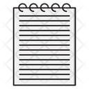 Notepad Notebook Records Icon