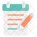 Notepad Education Student Icon