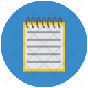Medical Book Notebook Icon