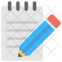 Notepad Jotter Scratch Pad Icon