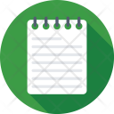 Notepad Notebook Dairy Icon