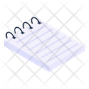 Notebook Notepad Manual Attendance Icon